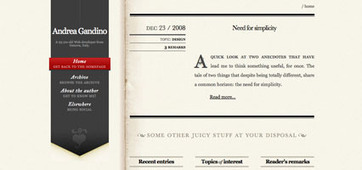 Striking Web Sites with Font Stacks that Inspire – Inspiration Bit | SEO php script | Scoop.it