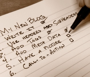 A Blogger's Checklist | Social Media Today | Tweeting and Blogging | Scoop.it