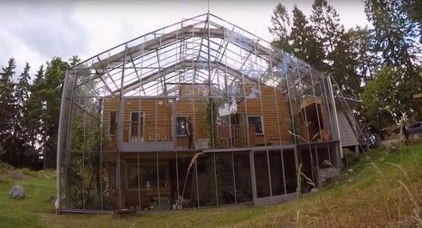[vidéo] La Nature House, du verre et du bois pour un confort toute l'année | Immobilier | Scoop.it