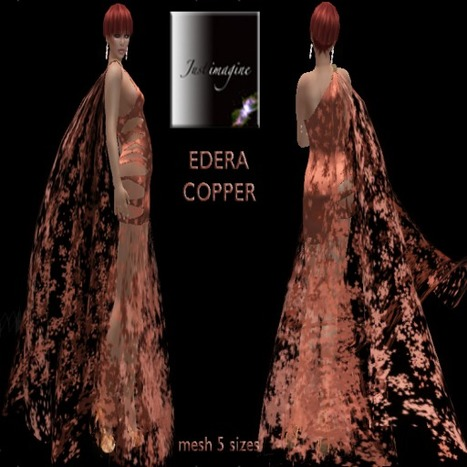 Dance the Night Away dressed in the Edera Copper Gown | Durff | Scoop.it