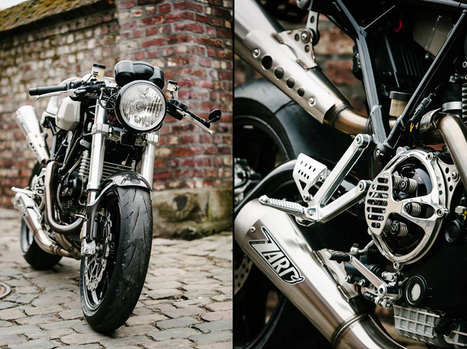 Flying Hermans' Ducati Cafe Racer | the Bike Shed | Cafe Racers | Scoop.it