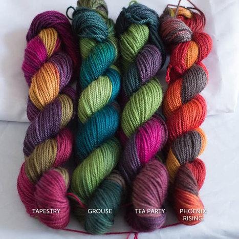Fall 2013 Colours Preview - SweetGeorgia Yarns | Yarn, yarn, yarn! | Scoop.it
