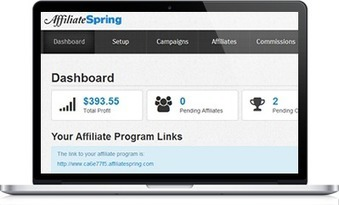 AffiliateSpring: The most afforable and easiest to use affiliate marketing software ever. | Betas worth trying. | Scoop.it