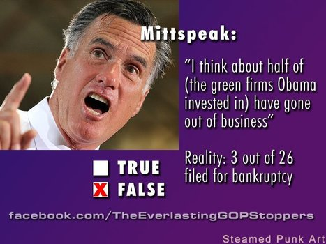 Another example of Mitt lying through his teeth...making up and saying whatever to get elected... | Educating Voters and Promoting the Vote | Scoop.it