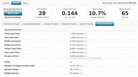 P3, Améliorer de 100% la Vitesse de Chargement de WordPress | laurentollier | Scoop.it
