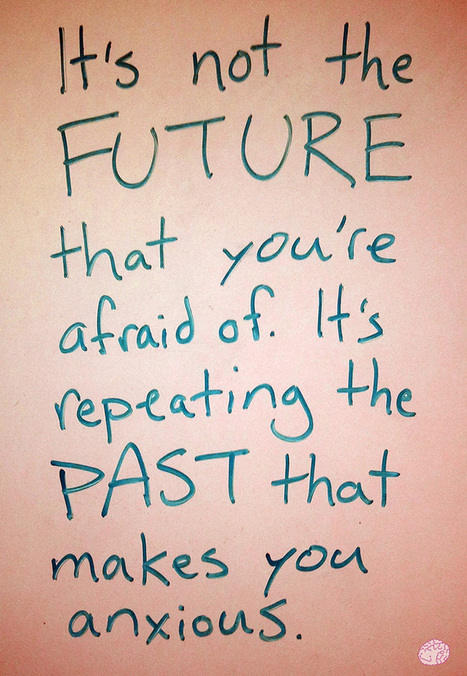 Often, when we're afraid about the future or... | | Inspirations | Scoop.it