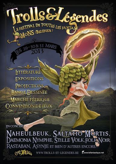 Les Ombres d'Esteren: Esteren tour 2013 : Rendez-vous à Trolls et Légendes et aux Croisades d'Unnord ce week-end ! | Jeux de Rôle | Scoop.it