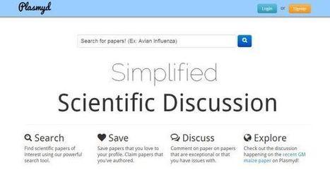 Plasmyd – motor de búsquedas y discusión sobre temas científicos | eLearning and research | Scoop.it