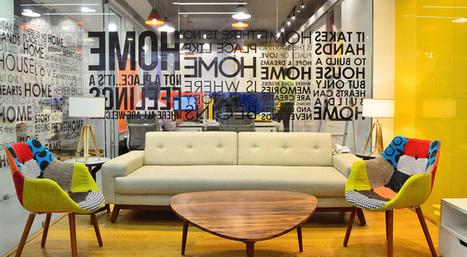 India Art n Design inditerrain: Real estate office gets a creative makeover   India Art n Design - Design   Scoop.it