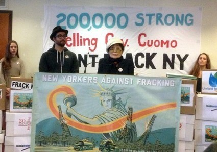 New Yorkers Deliver Unprecedented 200K+ Comments on Cuomo's Fracking Rules | EcoWatch | Scoop.it
