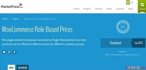 WooCommerce Role Based Prices - Download Free Nulled Scripts | Christian | Scoop.it