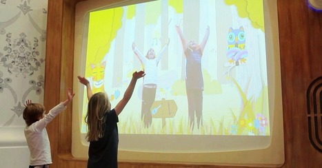 Interactive Hospital Wall Is Therapy for Child Patients | B | Scoop.it