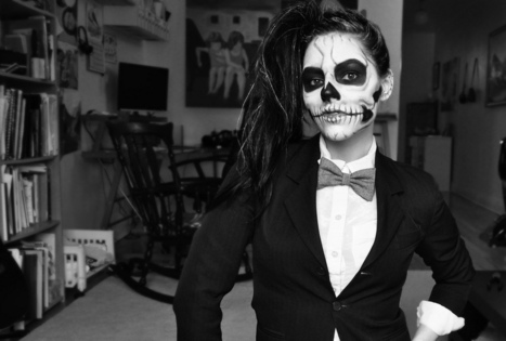 Skeleton Halloween Face Paint in 4 Steps | Mallatts | Costumes, Makeup, & Accessories | Scoop.it