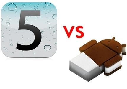 iOS 5 vs Android 4 : le choc des titans - Journal du Net Solutions   E-Tourisme Mobile   Scoop.it