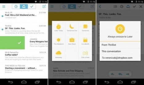 Mailbox pour Android : la messagerie de Dropbox n'est plus l ... | Geekhub | Scoop.it