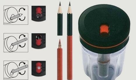 Un taille-crayon qui permet de réutiliser tous ses petits bouts de crayons   Efficycle   Scoop.it
