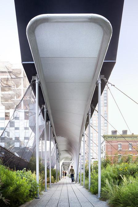 Nueva York: Zaha Hadid convierte un REFUGIO para peatones en .en sinuosa instalación en el High Line | URBANmedias | Scoop.it