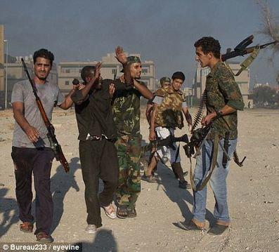 Black Africans Put in Zoo, Forced to Eat Libya's Flag: Obama and NATO's post-Gaddafi Libya | NewsRescue.com | Saif al Islam | Scoop.it
