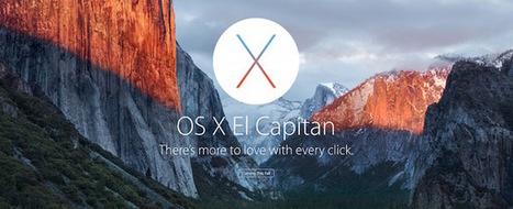 OS X El Capitan : tour d'horizon des nouveautés | Apple, IMac and other Iproducts | Scoop.it