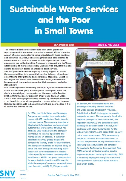 Commercialised water services can work for the poor, says SNV   Poverty Assignment_Thaqiv Idraqie (32)   Scoop.it