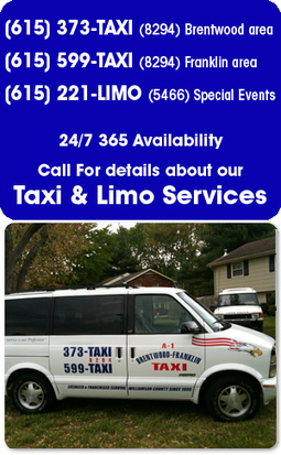 A-1 Brentwood Frankiln Taxi & Limo BNA Airport Transportation | Brentwood Taxi | Scoop.it