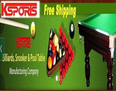 K-Sports - Snooker Billiard Table | Business | Scoop.it