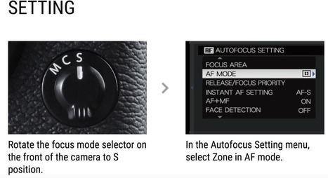 Understanding Zone Focus On Fuji X-Series Cameras | Fujifilm X Series APS C sensor camera | Scoop.it