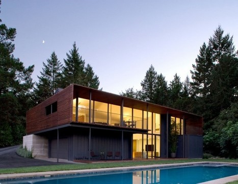 Sustainable Home Renovation Overlooking The Vineyards of Sonoma, California | sustainable architecture | Scoop.it