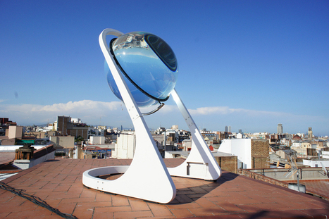 This glass sphere might revolutionize solar power on Earth (by concentrating light 10,000 times) | midwest corridor sustainable development | Scoop.it