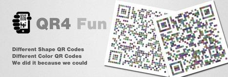 QR4 QR Codes - QR Code information, tools, services, utilities and software.. | AR-nology | Scoop.it
