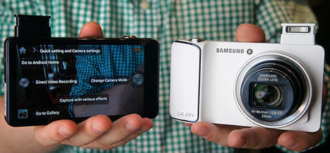 Samsung Unveils EK-GC100 Galaxy Camera Running Android 4.1 | Embedded Systems News | Scoop.it