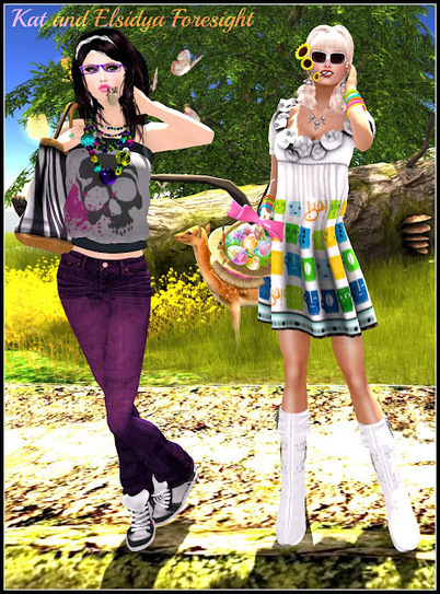 Freebies and cheapies in SL: A bucolic and colourful walk...Promenade bucolique et colorée.. | Freebies and cheapies in second life. | Scoop.it