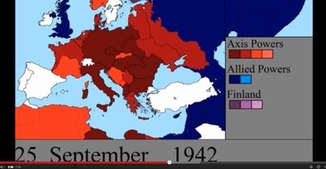 A Visualization Of World War II Like You've Never Seen Before | mis·cel·la·ne·ous | Scoop.it