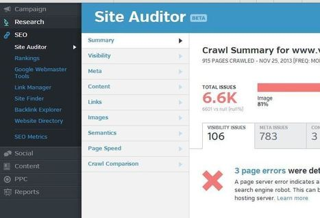 What is the Best SEO Site Audit Crawling Software? | Social Media, SEO, Mobile, Digital Marketing | Scoop.it