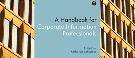 10 tips on managing electronic resources in a corporate environment | CILIP | Special Libraries | Scoop.it