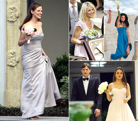 Celebrity Bridesmaids: Stars Who've Helped Out at Weddings | Fashion to Life | Scoop.it