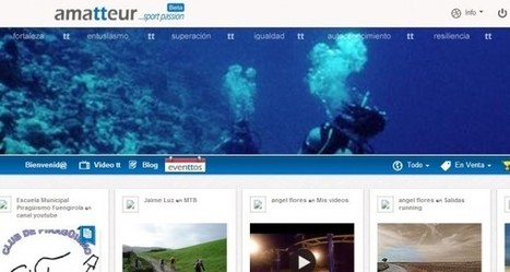 amatteur, la red social del deportista, incluye servicio de búsqueda y geolocalización | Social Media | Scoop.it