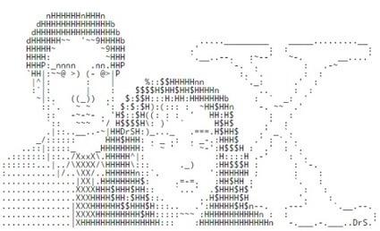 TEXT-MODE   ASCII Art   Scoop.it