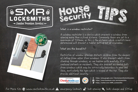 Security Tip #3 | SMR Locksmiths London | London trades and trusted companies | Scoop.it