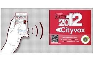 Cityvox rend  interactives les vitrines des restaurants | Benchmarking | Scoop.it