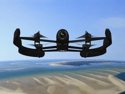 Bebop, le nouveau drone de Parrot | Outils pédagogiques | Scoop.it