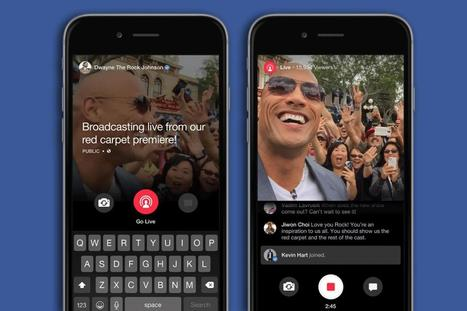 Facebook Live se paye des YouTubeurs et Viners  | Community Management Post | Scoop.it