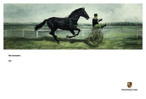 Rear horsepower, 1 - Porsche 911 Print Ad | 911 REAR HORSEPOWER | Scoop.it