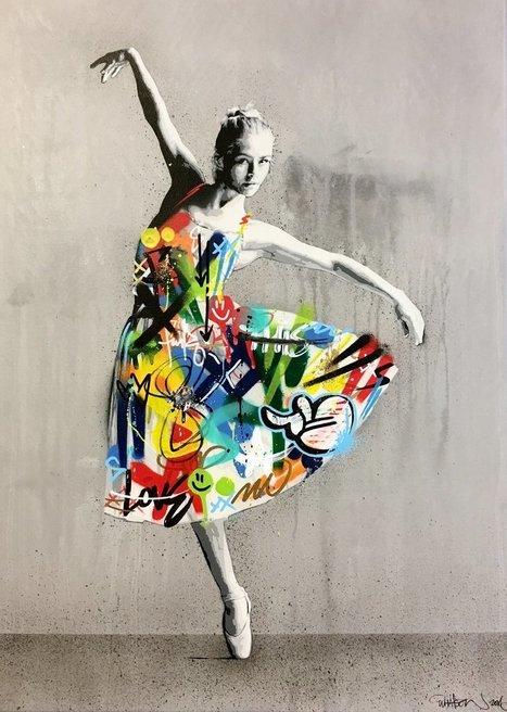 Stencil Art That Blends Graffiti and Decay by Martin Whatson | El Mundo del Diseño Gráfico | Scoop.it