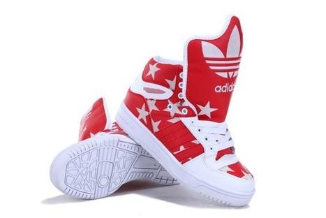 Jeremy Scott M Attitude Logo Mens GID   Jeremy Scott Adidas Originals Shoes   Scoop.it