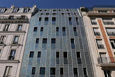 Emmaüs Quai de Valmy : une façade entièrement recouverte de panneaux solaires | Développement durable, généralité et curiosité | Scoop.it