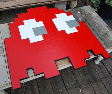 Pac-Man Ghost Table is Drivin' Me Crazy   All Geeks   Scoop.it