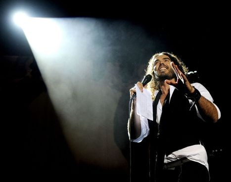 """Russell Brand on revolution: """"We no longer have the luxury of tradition"""" 