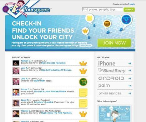 Yahoo! pourrait miser gros sur le site de géolocalisation Foursquare | Mobile Apps & geolocalisation | Scoop.it
