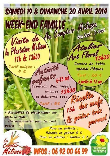 19 & 20 Avril | Paques en famille à l'Atelier Floral de Mélissa | Le monde rural et touristique | Scoop.it